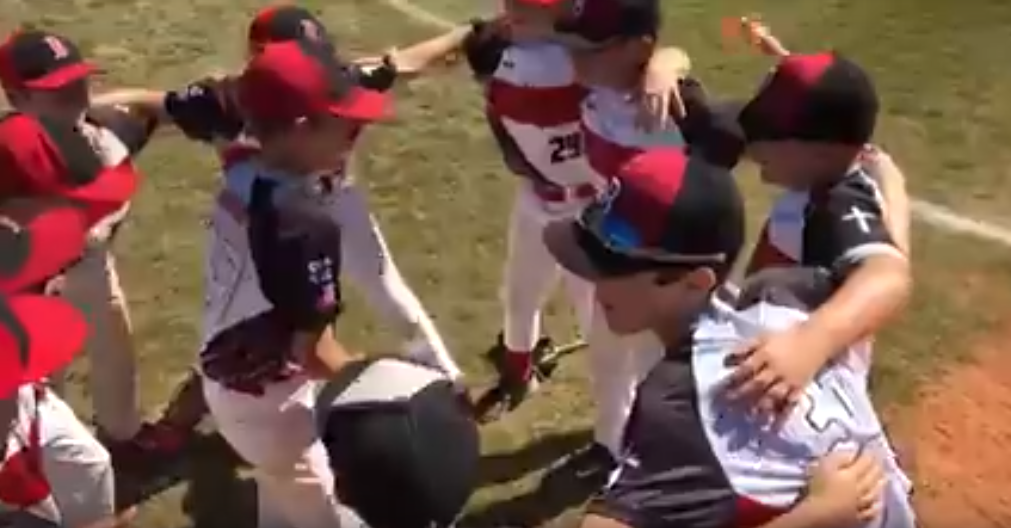 11U Red gets fired up